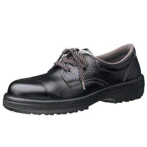 [ミドリ安全] 安全靴 JIS規格 女性用 短靴 ラバーテック LRT910 ブラック 23.0 cm