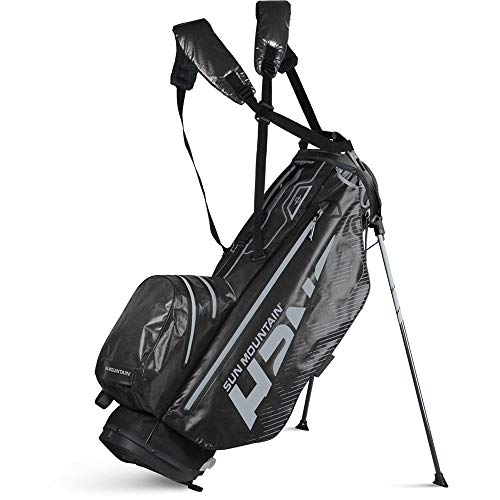 Sun Mountain 2020 H2NO Superlite Golf Stand Bag (Cadet-Nickel)