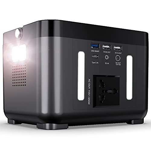 DBPOWER Portable Power Station, 250Wh 67200mAh Backup Lithium Battery...