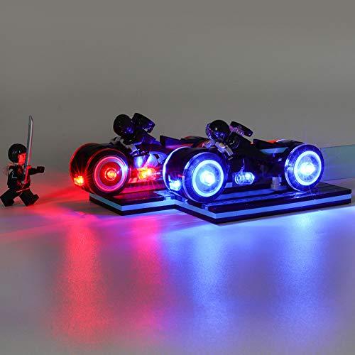 Nlne Conjunto De Luces para (Ideas Tron Legacy) Modelo De Construcción De Bloques - Kit De Luz LED Compatible con Lego 21314 (NO Incluido En El Modelo)