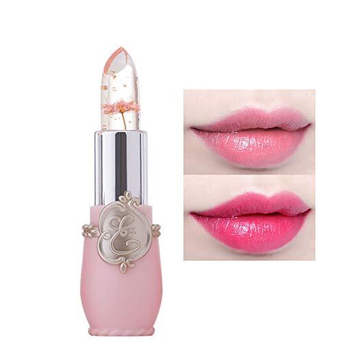 Snner 1 STÜCK NatüRliche Inhaltsstoffe Jelly Flower Lip Balm Feuchtigkeitscreme Lippenstift...