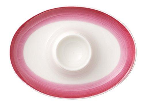 Villeroy & Boch Colourful Life Berry Fantasy Eierbecher, 5x5x7 cm, Premium Porzellan, Pink