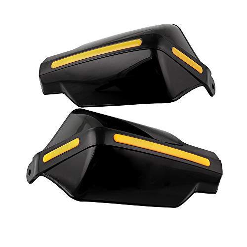 KKmoon 22mm 7/8' Paramanos,Guardamanos Handguard para Motocicleta ATV Protección contra el viento