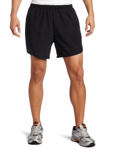 Soffe Men's Dri Running Shorts, Black, Medium