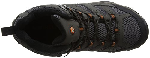Merrell Men's Moab 2 MID GTX High Rise Hiking Boots, Grey Beluga, 9.5
