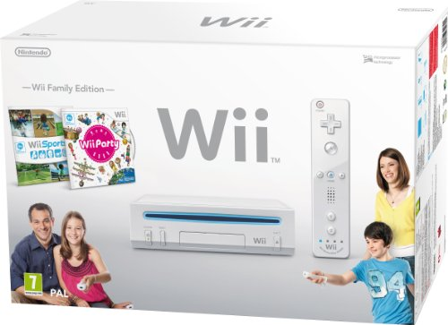 Nintendo Wii - Console con Wii sport e Wii party [Bundle]