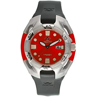 Reactor Heavy Water Red/Rubber Strap Dive Watch