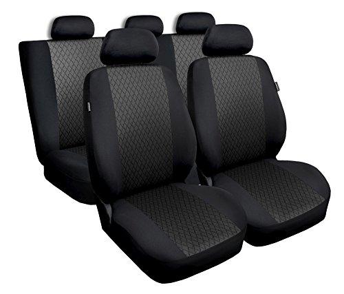 Mitsubi Space Star Grau Universal Sitzbezüge Sitzbezug für Auto Schonbezüge Schonbezug Autositz Autositzbezüge PROFI