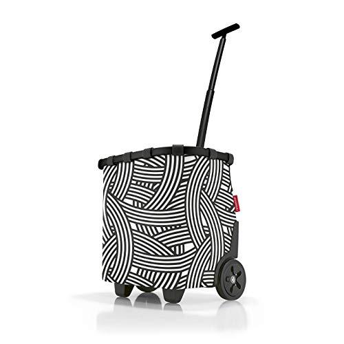 Reisenthel carrycruiser Frame Zebra, Schwarz Weiß, 40 L