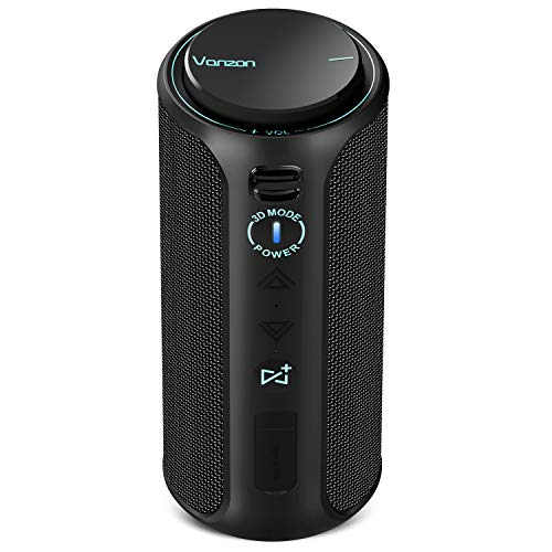 Vanzon Climber-Z Bluetooth Speaker 30W Portable IPX7 Waterproof Speaker Bluetooth V5.0 with Super Powerful Bass, Suitable for Party, Travel, Home&Outdoors