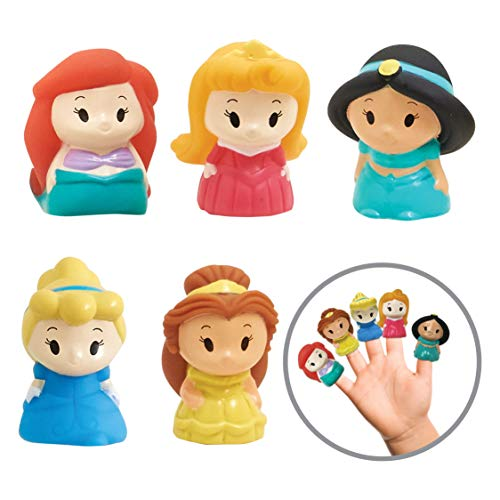 Disney Princess Finger Puppets - Party Favors, Educational, Classroom Rewards, Bath Toys