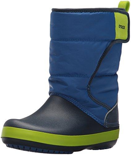 [クロックス] ロッジポイント スノー ブーツ キッズ 204660 Blue Jean/Navy 21.0 cm
