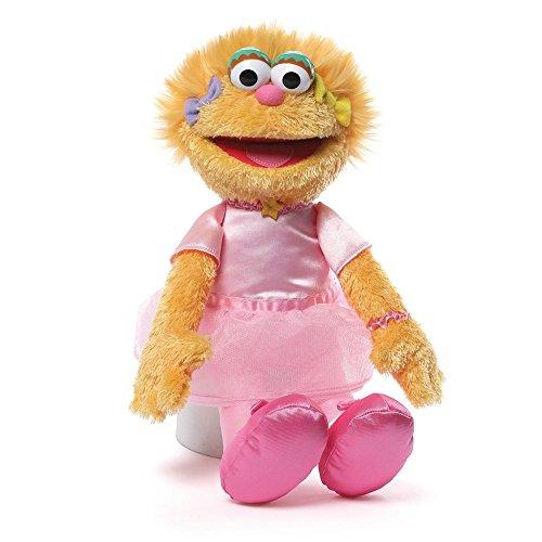 Gund Sesame Street Zoe Ballerina Stuffed Animal
