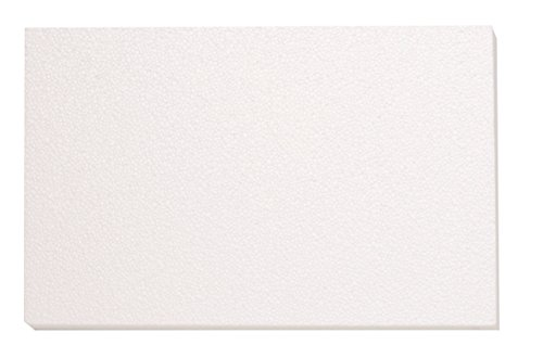 GLOREX 63803860K Placa de poliestireno, poliestireno, Blanco, 50x 30x 2cm