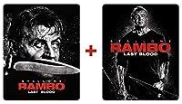 【Amazon.co.jp限定】ランボー ラスト・ブラッド Blu-ray+4K ULTRA HD [2枚組] スチールブック仕様 (日本オリジナルデザイン スチールブックケース+オリジナルステッカー付) [Steelbook]