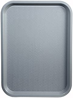 Winco Fast Food Tray, 14 by 18-Inch, Gray, Set of 3