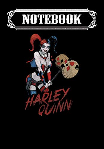 Notebook: Harley Quinn Big Hammer, Journal 6 x 9, 100 Page Blank Lined Paperback Journal/Notebook