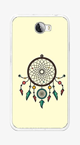 Tumundosmartphone Funda Gel TPU para Huawei Y5 II / Y6 II Compact diseño ATRAPASUEÑOS Dibujos