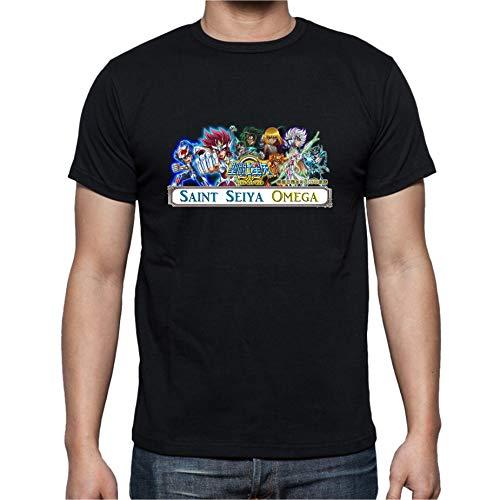 The Fan Tee Camiseta de Hombre Caballeros del Zodiaco Sint Seiya Anime S