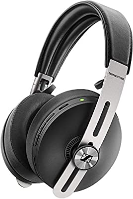 Sennheiser MOMENTUM 3 Wireless Noise Cancelling Headphones with Alexa built-in, Auto On/Off, Smart Pause Functionality and Smart Control App