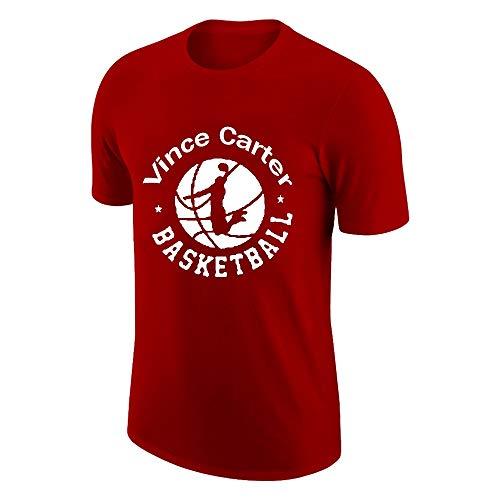 ANHPI Vince Carter # 15 Camiseta de Baloncesto Fans de los Deportes de los Hombres Jersey Cómodo y Transpirable con una Pulsera de Pulsera de Tres Piezas (Color : Red, Size : XX-Large)