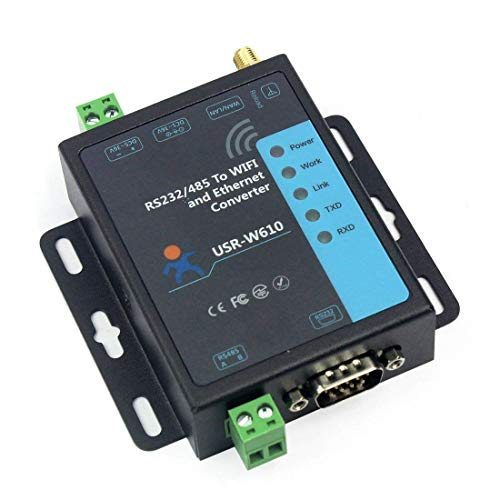 ​USR-W610 Serial to WiFi Ethernet Converter RS232 RS485 Serial Server