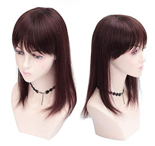 ZHENRENJIAFA Wig piece hand-woven top heart piece