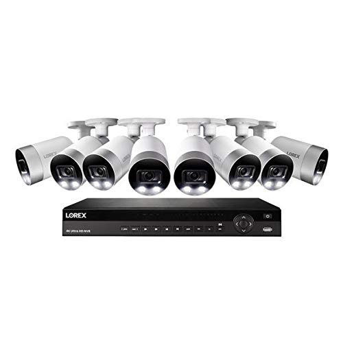 Buy 4K Ultra HD 16-Channel Security System with 3 TB NVR and Eight 4K UHD Bullet Security Cameras wi...