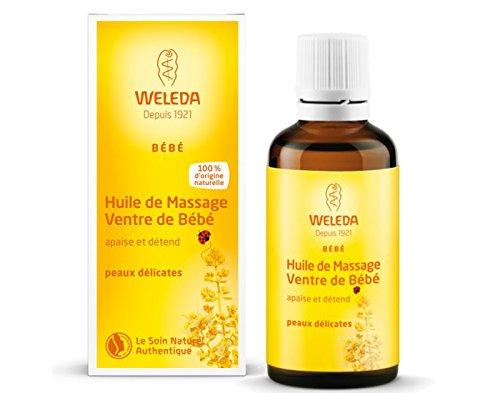 Aceite Tripita Bebé, alivia los cólicos - Weleda (50 ml) - Se envía con: muestra gratis y una tarjeta superbonita que puedes usar como marca-páginas!