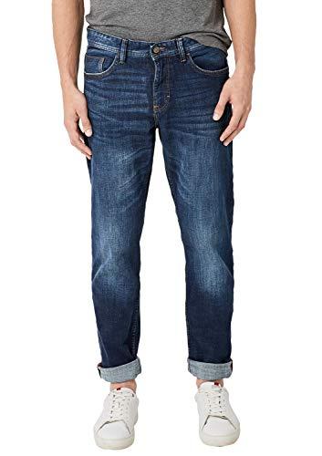 s.Oliver Herren 13.909.71.5715 Straight Jeans, Blau (Blue Denim Stretch 56z4), 34W