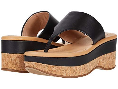CC Corso Como womens Arowin Wedge Sandal, Black, 11 US