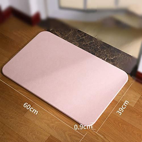 Buy Bargain Bath mats antiscivolo Absorbent Floor Mat Carpet Rug for Bathroom (Color : B-60390.9CM)