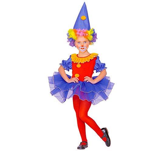 WIDMANN - Disfraz de payaso para niños, multicolor, 110 cm/3 – 4 años, 43779