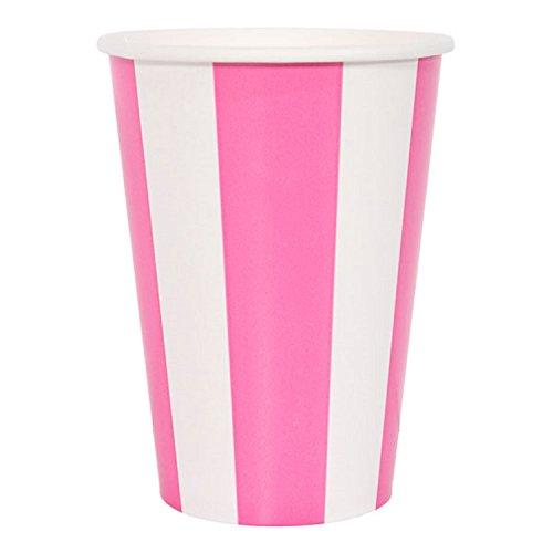 Party papier Cups Rose 355 ml – Lot de 6