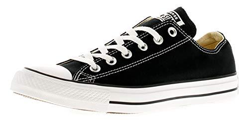 CONVERSE Chuck Taylor All Star Seasonal Ox, Unisex-Erwachsene Sneakers, Schwarz-Weiss(Black/White), 41.5 EU