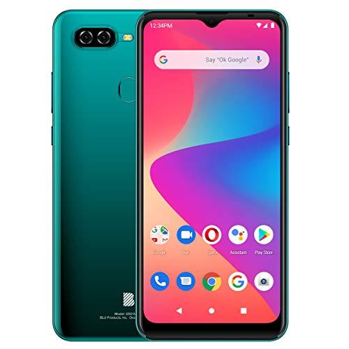 BLU G50 MEGA | 2021 | All day battery | Unlocked | US version | US warranty | 2 32GB | Green
