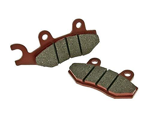 Plaquettes de frein organique – Hyosung 125/250 MS3 Année de construction 07–09 (avant gauche/arrière)