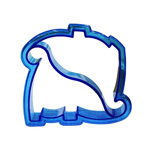 joyliveCY Sandwich Brot Keks-Ausstecher, Plastik, blau, Dinosaur