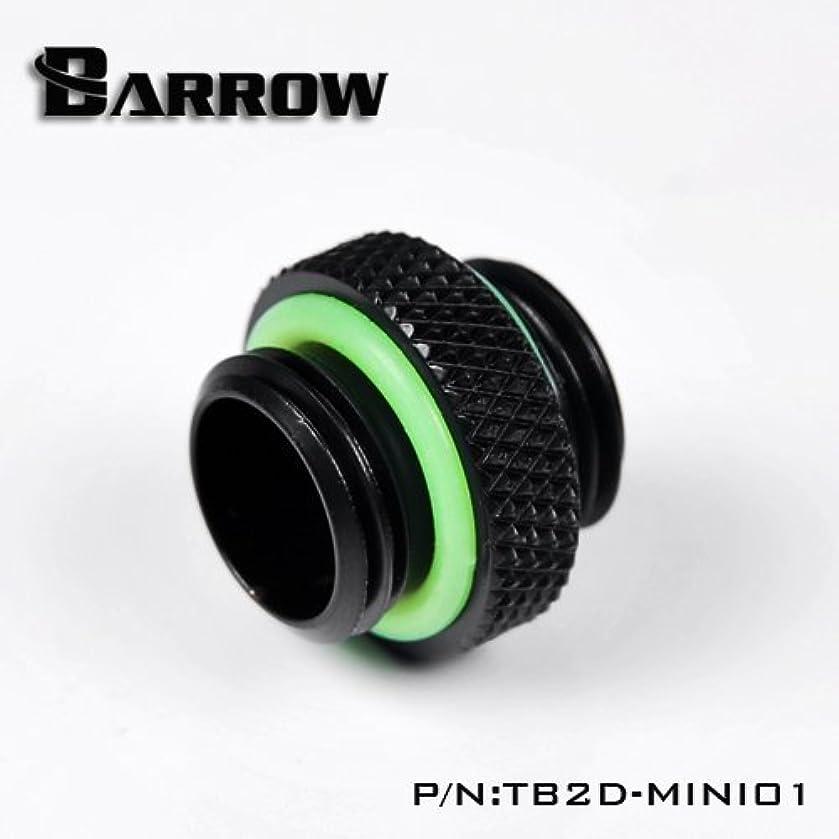 Fittings Extender 4mm Extender Coupler Adapter Matte Black Male to Male G1/4 Thread