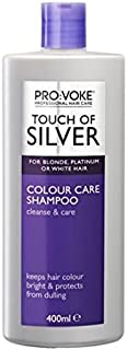 Pro:voke Touch of Silver Daily Maintenance Shampoo (400ml) - Pack of 6