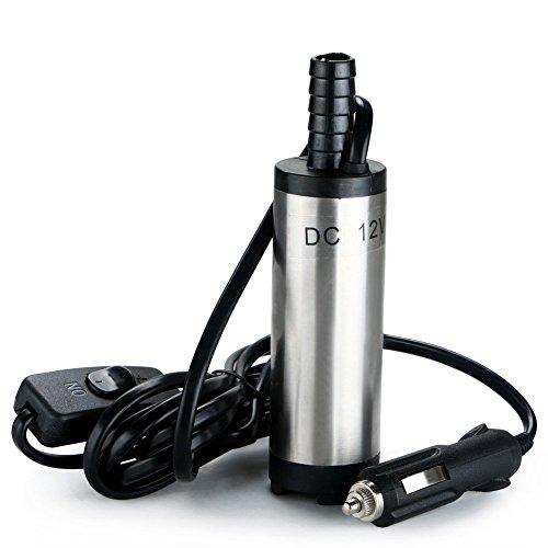 flintronic Bomba de Agua y Aceite, 12V Bompa Sumergible de A