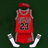 Uniforme de basket-ball pour enfants costume de gilet de jeu d'été pour garçons et filles