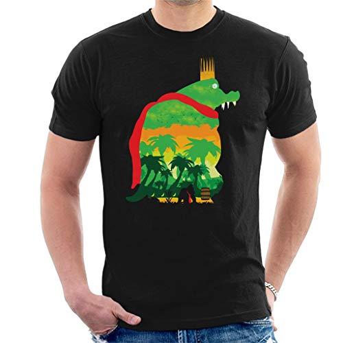 King K Rool Island Quest Donkey Kong Men's T-Shirt