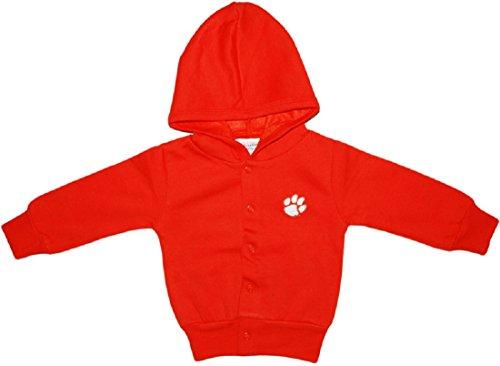 Clemson University Tigers Baby Snap Hooded Jacket Orange