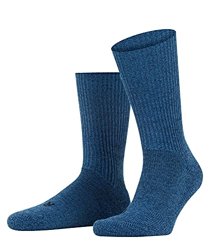 Falke Herren Walkie Ergo U SO Socken, Blickdicht, Blau (Light Denim 6660), 44-45