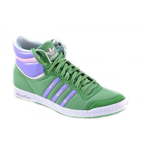 Adidas Top Ten Hi Sleek W Hi Sneaker 6,5 sig.green/m.purple