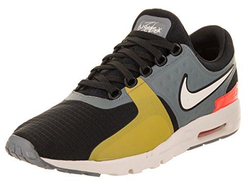 Nike W Air Max Zero donna, NERO / LIGHT BONE-COOL GRAY-TOTAL, 6 US