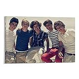 WSDSB One Direction 20 Leinwand-Kunst-Poster und