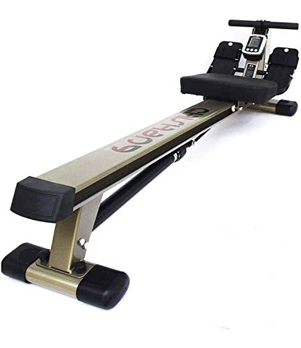 Mu Xin Home rowing machine, 2020 model rowing machine fitness cardio workout with adjustable resistance,rowing machines concept 2 model d hydraulic resistance sitting posture mute paddle
