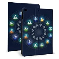 Ipad Mini5 ケース 2019 第五世代 モデル カバー 十二宮 サークル 超薄型 超軽量 Puレザー スマートカバー 傷防止 耐衝撃 Tpu 保護 キズ防止 指紋防止 7.9インチタブレット用